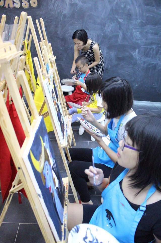 Oil painting workshop 1
