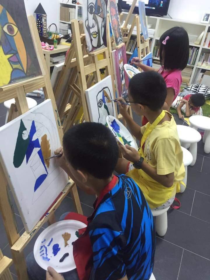 Oil painting workshop 4